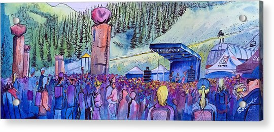 Peter Rowen At Copper Mountain Acrylic Print
