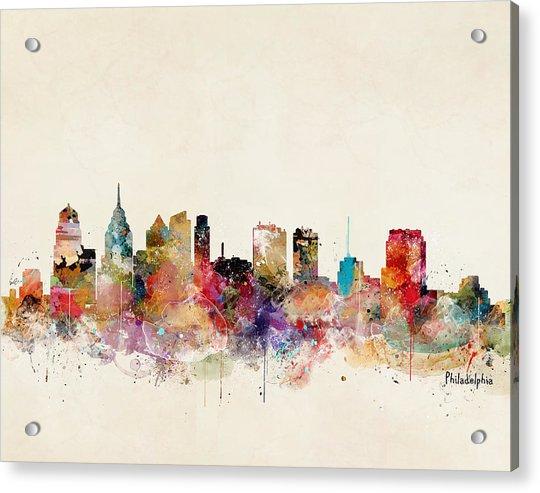 Philadelphia Pennsylvania Acrylic Print