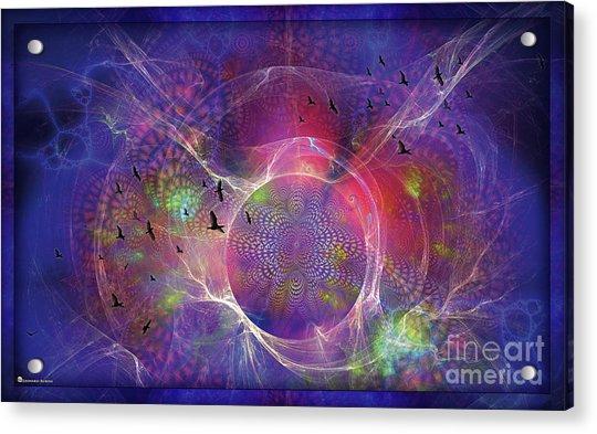 Photon-rings Acrylic Print