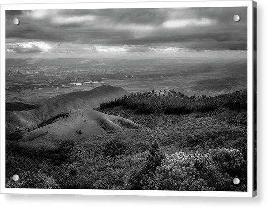 Pico Do Itapeva-pindamonhangaba-sp Acrylic Print