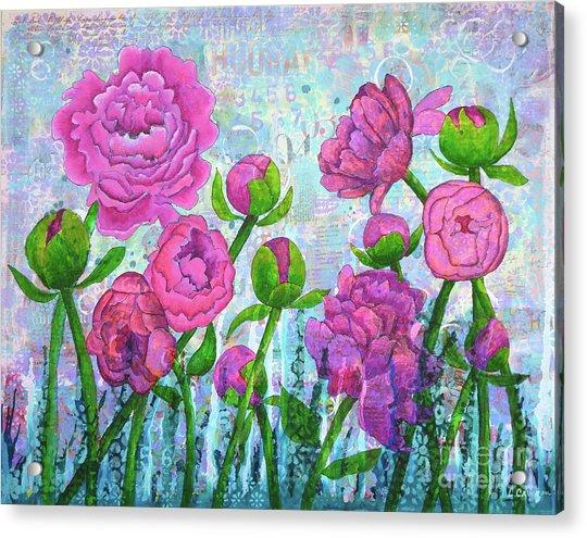 Pink Punch Acrylic Print