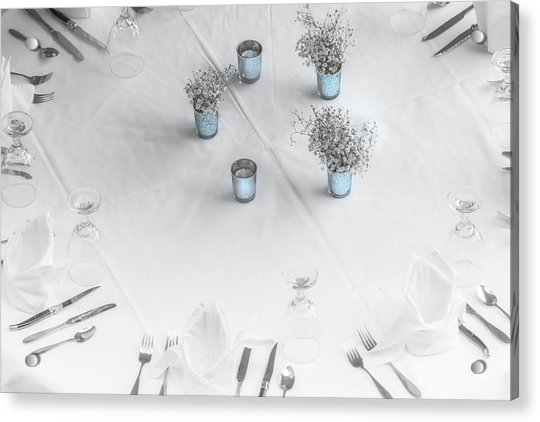 Place Settings Acrylic Print