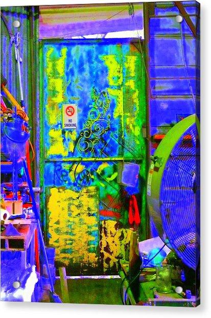 Polychromous Acrylic Print by Kirk Long