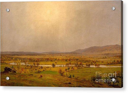 Pompton Plains, New Jersey, 1867 Acrylic Print