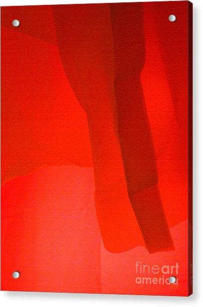Poncho Abstract 3 Acrylic Print