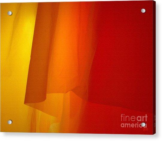 Poncho Abstract 5 Acrylic Print