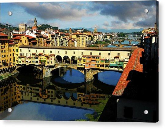 Ponte Vecchio View  Acrylic Print