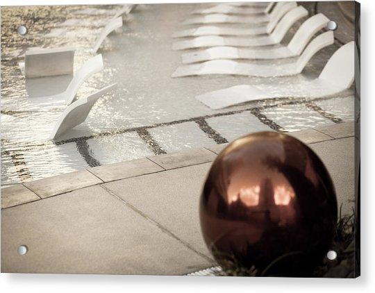 Pool Ball Acrylic Print