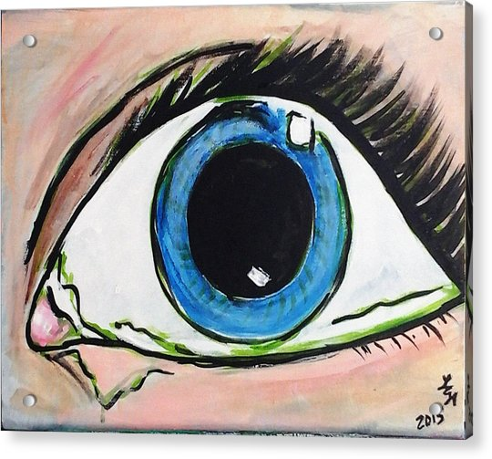 Pop Art Eye Acrylic Print
