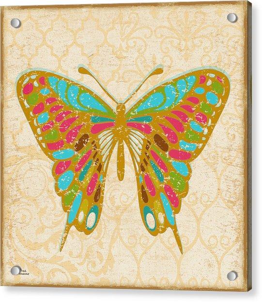 Pop Butterfly Acrylic Print