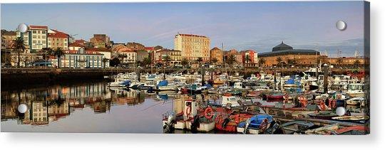 Port Of Ferrol Galicia Spain Acrylic Print