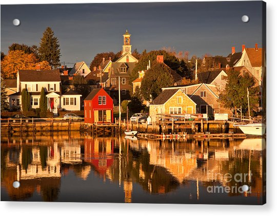 Portsmouth Reflections Acrylic Print