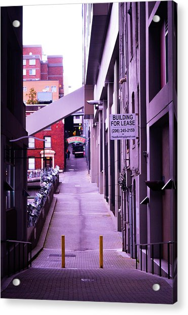 Post Alley, Seattle Acrylic Print