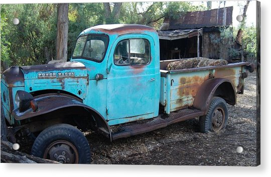 Power Wagon Acrylic Print