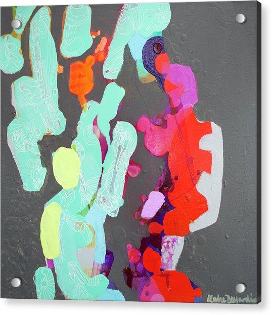 Press Resettled Acrylic Print