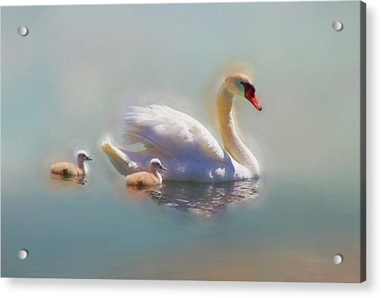 Proud Mom Acrylic Print