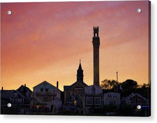 Provincetown Sunset Acrylic Print