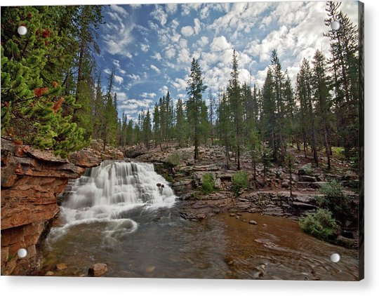 Provo River Falls Acrylic Print
