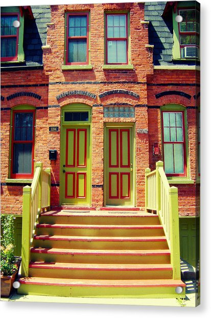 Pullman National Monument Row House Acrylic Print