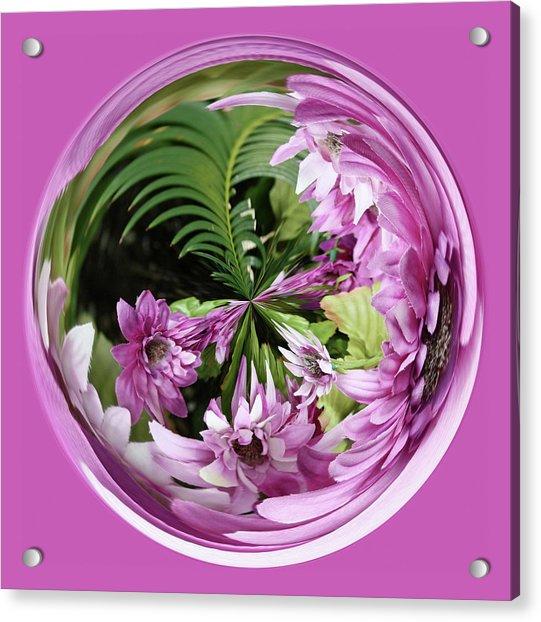 Purple Orb Acrylic Print