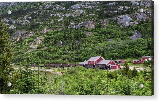 Railroad To The Yukon Acrylic Print