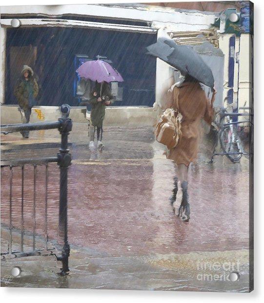 Raining All Around Acrylic Print