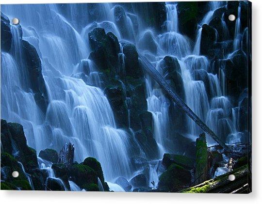Ramona Falls In Close Acrylic Print