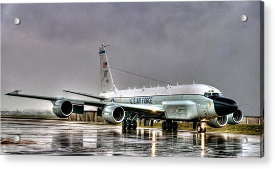 Rc-135 Rivet Joint Acrylic Print