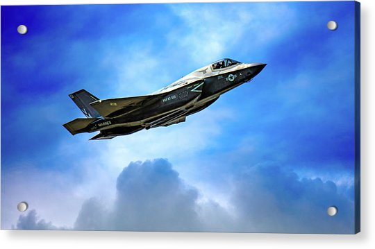 Acrylic Print featuring the photograph Reach For The Skies by Chris Lord