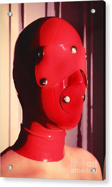 Red Hood Acrylic Print