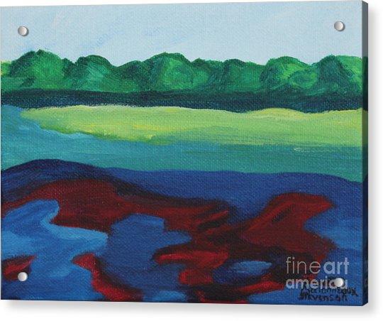 Red Lake Acrylic Print