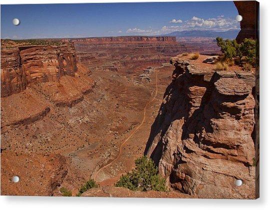 Red Rock Vista Acrylic Print by Nick Roberts