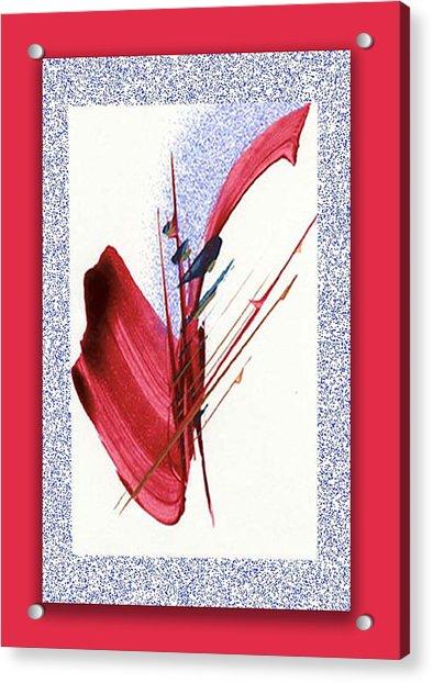 Red Sax Acrylic Print