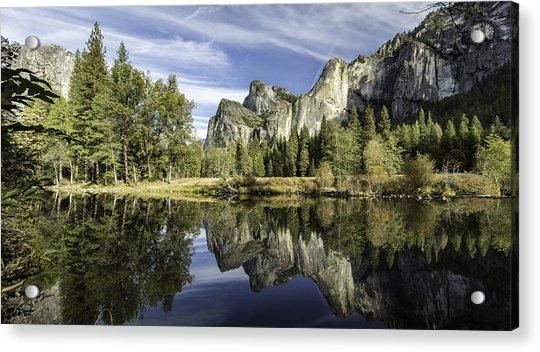 Reflecting On Yosemite Acrylic Print