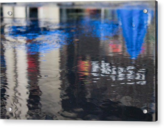 Acrylic Print featuring the photograph Reflections by Break The Silhouette