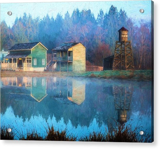 Reflections Of Hope - Hope Valley Art Acrylic Print