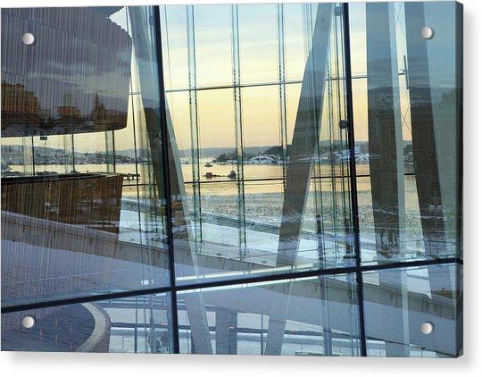 Reflections Of Oslo Acrylic Print