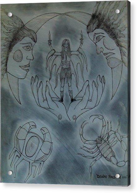 Release Me Acrylic Print by Deidre Firestone