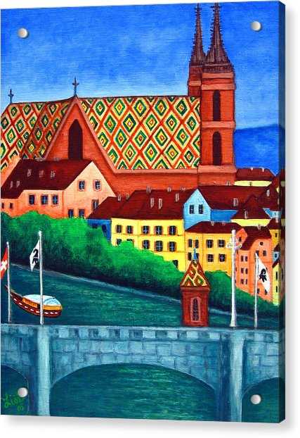 Remembering Basel Acrylic Print