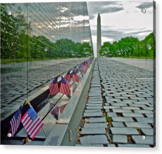 Remembrance Of Patriotism Acrylic Print