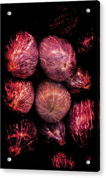 Renaissance Turkish Eggplant Acrylic Print