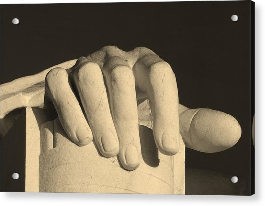 Right Hand Of The Man Acrylic Print