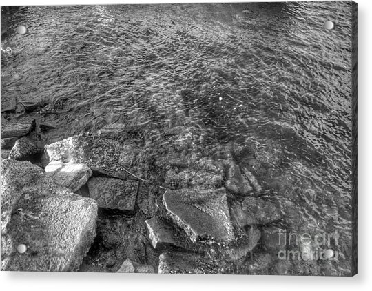 Ripples On Lake Champlain Acrylic Print