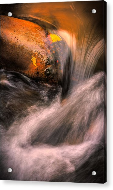 River Flow, Zion National Park Acrylic Print