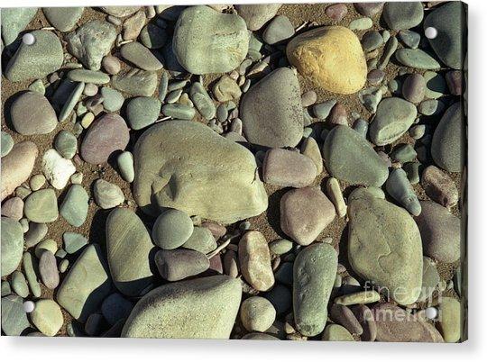 River Rock Acrylic Print