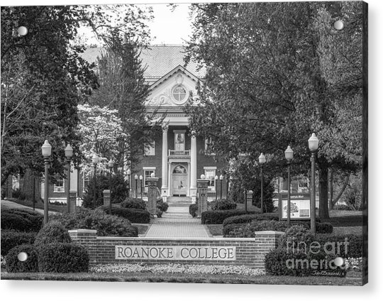 Administration Building Roanoke College Acrylic Print