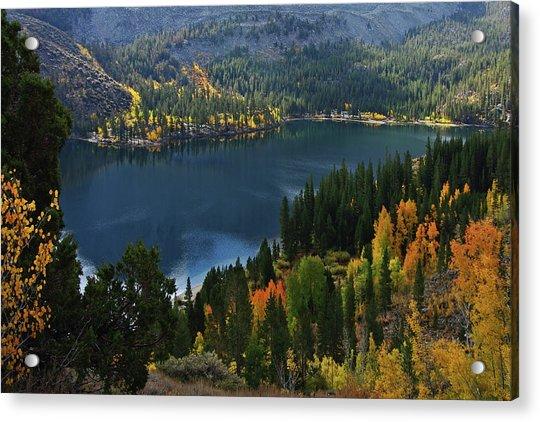 Rock Creek Lake Eastern Sierra Acrylic Print