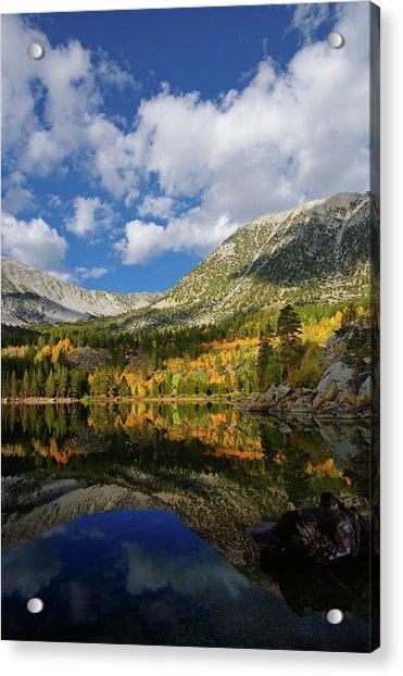 Rock Creek Lake Reflection Eastern Sierra Acrylic Print