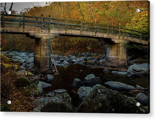 Rock Creek Park Bridge Acrylic Print