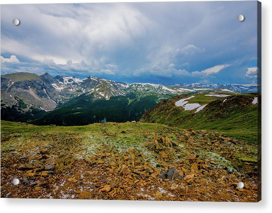 Rock Cut 2 - Trail Ridge Road Acrylic Print